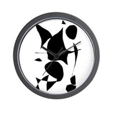 Black Universe Space Energy Thoughts Wall Clock