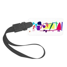 Miscellaneous Unknown World Songs Luggage Tag