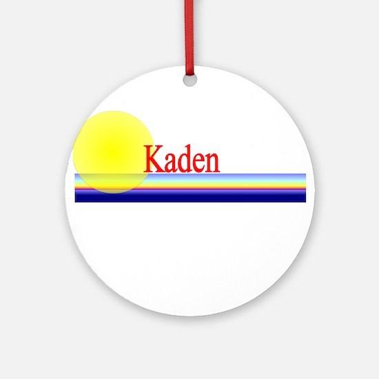 Kaden Ornament (Round)