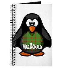 MacDonald Tartan Penguin Journal