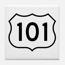 U.S. Route 101 Tile Coaster