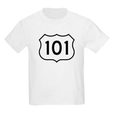 U.S. Route 101 Kids T-Shirt