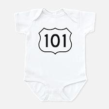 U.S. Route 101 Infant Creeper