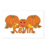 Halloween Pumpkin Kevin Postcards (Package of 8)