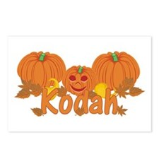 Halloween Pumpkin Kodah Postcards (Package of 8)