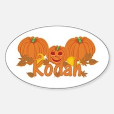 Halloween Pumpkin Kodah Decal