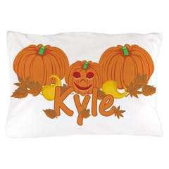 Halloween Pumpkin Kyle Pillow Case