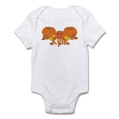 Halloween Pumpkin Kyle Infant Bodysuit