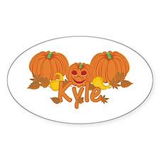 Halloween Pumpkin Kyle Decal