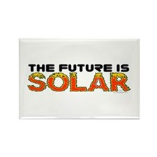 The Future Is Solar Rectangle Magnet (10 pack)