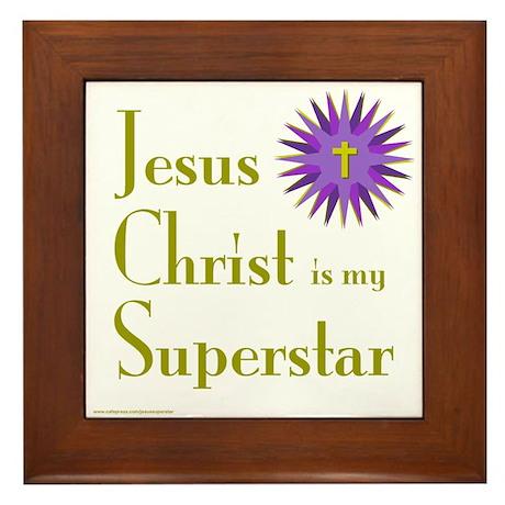 JESUS SUPERSTAR Framed Tile