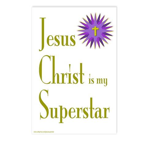 JESUS SUPERSTAR Postcards (Package of 8)