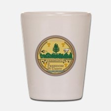 Vermont Seal Shot Glass