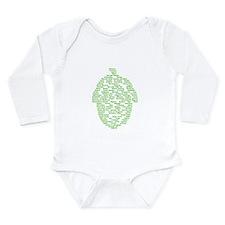 Hops of The World Long Sleeve Infant Bodysuit