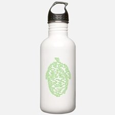 Hops of The World Water Bottle