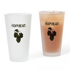 Hophead Drinking Glass