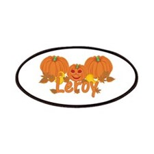Halloween Pumpkin Leroy Patches