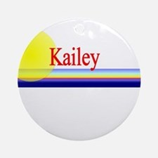 Kailey Ornament (Round)