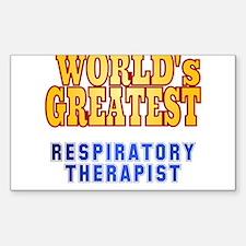 World's Greatest Respiratory Therapist Decal