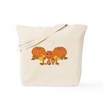 Halloween Pumpkin Levi Tote Bag