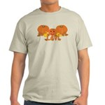 Halloween Pumpkin Levi Light T-Shirt