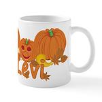 Halloween Pumpkin Levi Mug