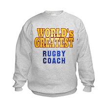 World's Greatest Rugby Coach Sweatshirt