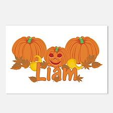 Halloween Pumpkin Liam Postcards (Package of 8)