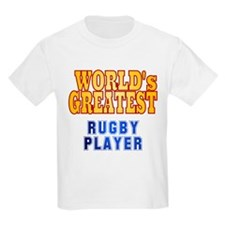 World's Greatest Rugby Player T-Shirt