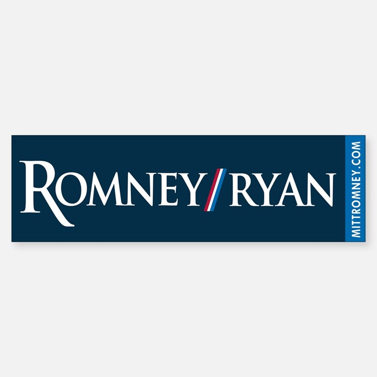 Romney - Ryan '12 Bumper Bumper Sticker
