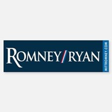 Romney - Ryan '12 Sticker (Bumper)