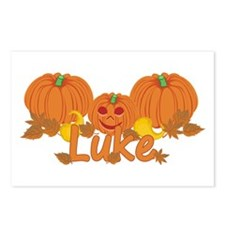 Halloween Pumpkin Luke Postcards (Package of 8)