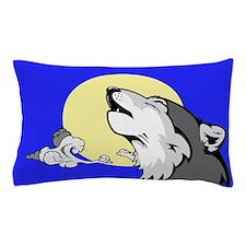 Grey Wolf Pillow Case