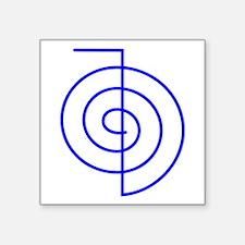 """Cho Ku Rei (blue) Square Sticker 3"""" x 3"""""""