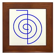 Cho Ku Rei (blue) Framed Tile