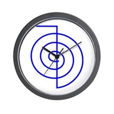 Cho Ku Rei (blue) Wall Clock