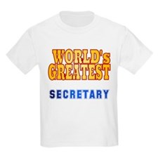 World's Greatest Secretary T-Shirt