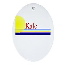 Kale Oval Ornament