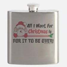 All I Want For Christmas Flask