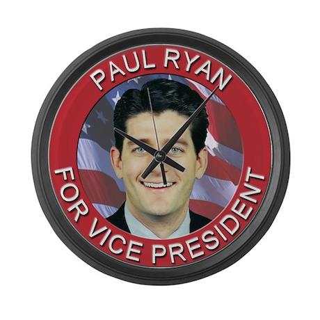 Paul Ryan for Vice President Large Wall Clock