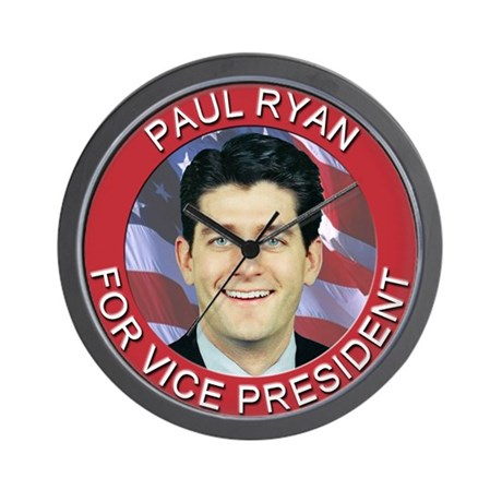 Paul Ryan for Vice President Wall Clock