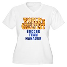 World's Greatest Soccer Team Manager T-Shirt