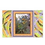 Sunflower Art Postcards (Package of 8)