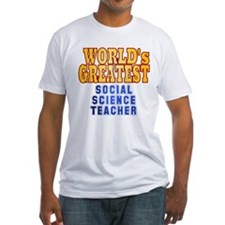 World's Greatest Social Science Teacher Shirt