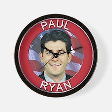Paul Ryan Wall Clock