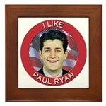 I Like Paul Ryan Framed Tile