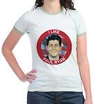 I Like Paul Ryan Jr. Ringer T-Shirt