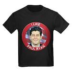 I Like Paul Ryan Kids Dark T-Shirt
