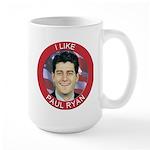 I Like Paul Ryan Large Mug