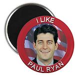 I Like Paul Ryan Magnet